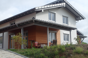 Haus in Holzständerbauweise